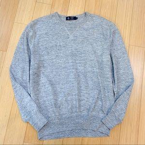 J. CREW men's Heathered Sweatshirt Sweater, XL.